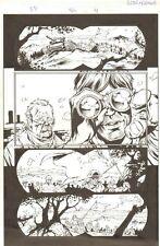 Fantastic Four #506 (77) p.4 - Soldiers - 2004 art by Howard Porter Comic Art