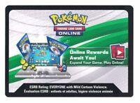 4x Pokemon Online Code Card Burning Shadows - Emailed