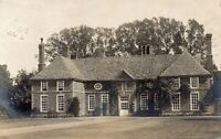 Unknown Location Large Detached House Warwickshire? Real Photo Postcard (HHH)