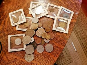 Lot of mixed foreign coins