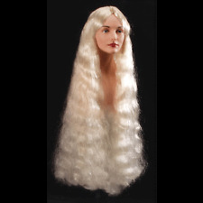LONG MERMAID WIG BLONDE Halloween Wig Party Woman Sexy Dress up