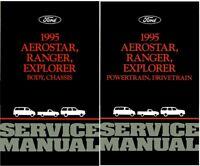 1995 Aerostar Explorer Ranger Shop Service Repair Manual Book Engine Drivetrain
