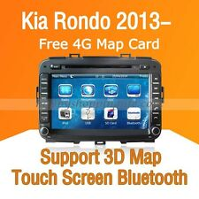 Car Dash DVD GPS Navigation Radio Stereo Bluetooth for Kia Rondo 2013 2014