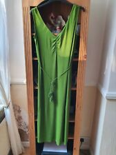 Marks and Spencer 'collection' green maxi dress size 20
