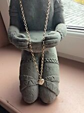 Stephen Einhorn unique luxury silver Heart charm necklace