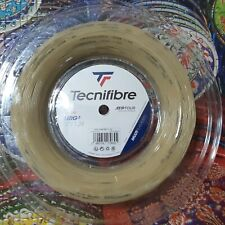 Tecnifibre NRG2 17 Gauge 1.24mm 660' 200m Tennis String Reel Natural