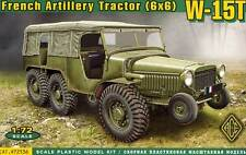 ACE W-15T French Artillery Tractor WWII 6x6 Jeep 1:72 Modell-Bausatz NEU OVP kit