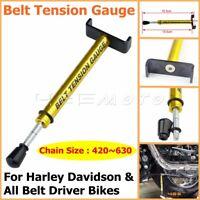 Motorcycle Belt Tension Gauge Tool For Harley Davidson & All Belt Driver Bikes