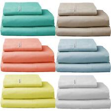 Patternless Logan & Mason 100% Cotton Bedding Sheets