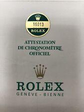 Original Vintage  Rolex 16013 Watch -  Blank Certificate Guarantee 7326709  #30