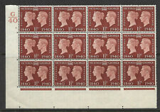 Sg 481 1940 Centenary Cylinder G40 2 Dot UNMOUNTED MINT/MNH
