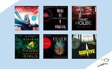 ?  36 CDs = 6 Thriller - Krimi  Hörbücher - Neuware - Paket Sammlung Holbe