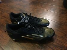 adidas adiZero Afterburner 2.0 NCAA - Hommes Noir/Gold Metallic/Gold Size 10