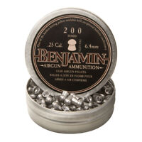 Benjamin Sheridan BD225 Domed Pellets .25 Caliber 27.9 Grain (200 Pack)