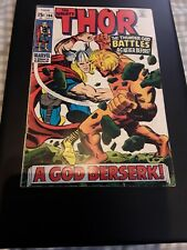 The Mighty Thor #166 FN 6.0 2nd Full Appearance Warlock