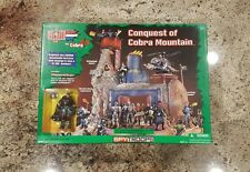 2003 GI Joe / CONQUEST of COBRA MOUNTAIN / playset SEALED MISB Shipwreck - RARE