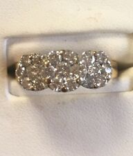 Diamond Cluster Ring, 14ky