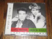 Wham George Michael- Last Christmas Import Cd- New- Sealed!  Andrew Ridgely