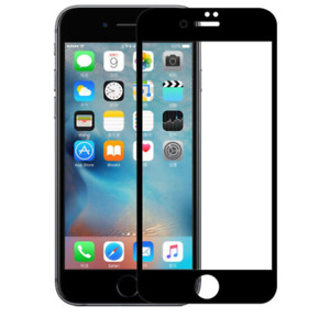 5 Pack Full Coverage Tempered Glass Screen Protector For iPhone 6s 6 7 8 Plus