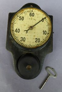 Vintage Kitchen timer clock, works but in need of resto