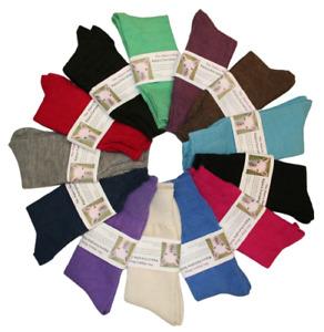 ALPACA DRESS SOCKS - Plain, Everyday Dress Alpaca wool, Mens, Womens, Made in UK