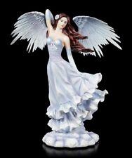 Große Engel Figur - Lydia mit ausgebreiteten Flügeln - Fantasy Fee Elfe Statue
