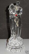 Vintage 2006 Lenox Czech Crystal Bride and Groom Ornament Original Box