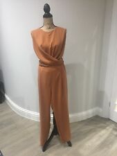 Jumpsuit by Mango Size L Casual smart in lovely golden brown colour