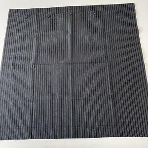 New. Ralph Lauren Home Euro Sham. Pin Striped. Black/white