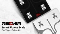(Open Box) Redover Smart Digital Bathroom Weight Fat Scale Body BMI Mobile FDA
