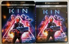 KIN 4K ULTRA HD BLU RAY 2 DISC SET + SLIPCOVER SLEEVE FREE WORLD WIDE SHIPPING