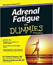 Adrenal Fatigue For Dummies Paperback by Snyder, Richard 2014 WT71189
