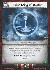 Legend of the Five RIngs L5R CCG CoM Coils of Madness False Ring of Water FOIL