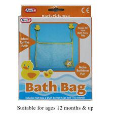 BNIB Baby Bath Toy Net Bag with Duck Suckers and Bath Toy 62061