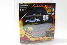 1:64 Greenlight The Walking Dead Hollywood Set 4x Cars NEW bei PREMIUM-MODELCARS