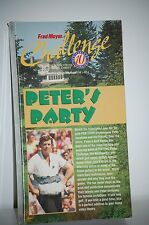 VHS PETER JACOBSEN in Peter's Party Video Comedic Trick Shots NEW