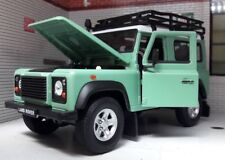 1/24 Welly Land Rover defender blanco 22498