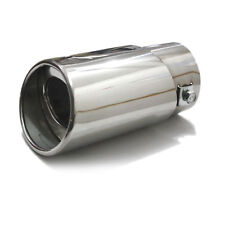Car SUV Vehicle Exhaust Trim Tips Muffler Pipe Chrome Tail Throat 12-3A930 Sale