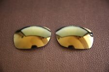 fca7163151648 PolarLens POLARIZED 24k Gold Replacement Lens for-Oakley Sideways sunglasses