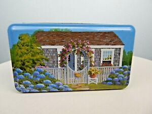 "Nantucket Collectible Tin by Artist Barbra Capizzo ""Nantucket Collage"""
