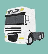 DAF 105XF  embroidered on Polo Shirt