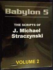 b5books.com B5 JMS Babylon 5: The Scripts of J. Michael Straczynsi Volume 2 NEW