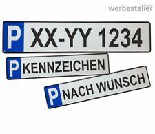 Parkplatzschild PRIVAT 52x11 Parkverbot Parklatz Parken KFZ-Schild ROT #P6
