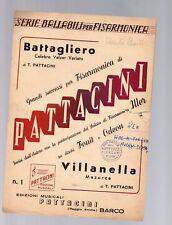battagliero - villanella - per fisarmonica