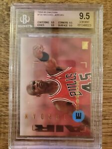 1994-95 Emotion Michael Jordan 100 BGS 9.5 Gem Mint