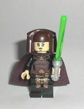 Lego Luminara Unduli 75151 Jedi w/ Cape Lightsaber Star Wars Minifigure RARE