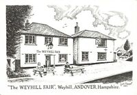 Art Sketch Postcard The Weyhill Fair, Weyhill, Andover Hampshire Don Vincent AS1
