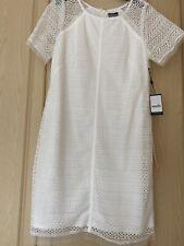 adrianna papell White Dress Size 16 BNWT