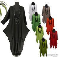 PoCo DeSiGn LAGENLOOK ❾ Long-Shirt Tunika  L XL XXL XXXL 44-46-48-50-52-54-56-58