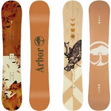 Arbor Cadence Rocker Damen Snowboard Tous Mountain Freestyle 2020-2021 Neuf